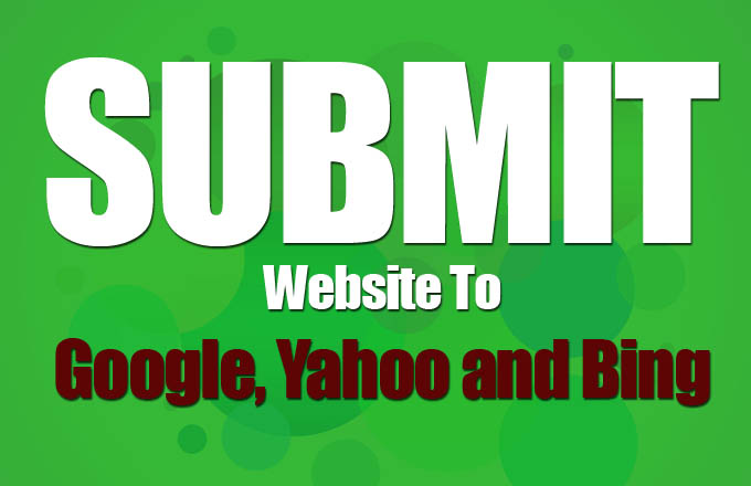 How to submit website to Google, Yahoo and Bing