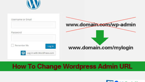 How To Change WordPress Admin URL?