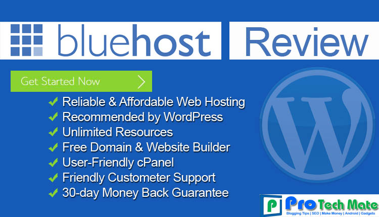 BlueHost Review: Best Shared Hosting for WordPress Sites