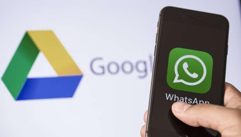 whatsapp backup iphone to google drive